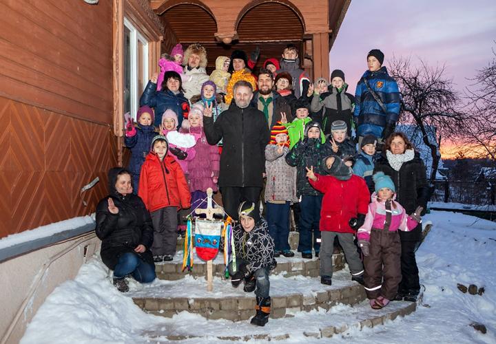 Стая «Лукоморье» (дружина ОРЮР «Черноголовль») провела свой зимний лагерь-бивуак «Яропольцы»