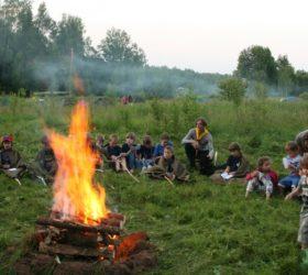 Скаутский лагерь «Мураново городище - 2016»
