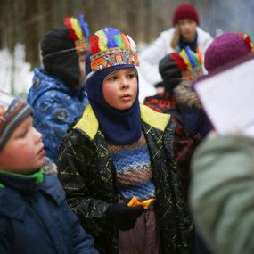 27 ноября в с.Макарово прошла скаутская игра «Королевская почта»