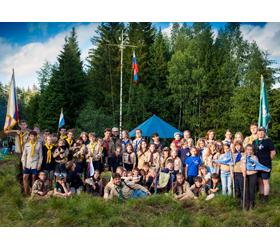 С 24 июня по 8 июля в Подмосковье прошел выезд скаутов-разведчиков
